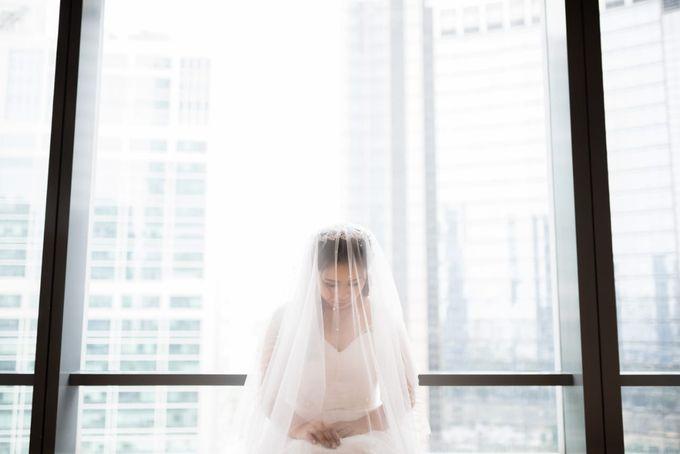 Steffi & Joshua Wedding Day by KYRIA WEDDING - 011