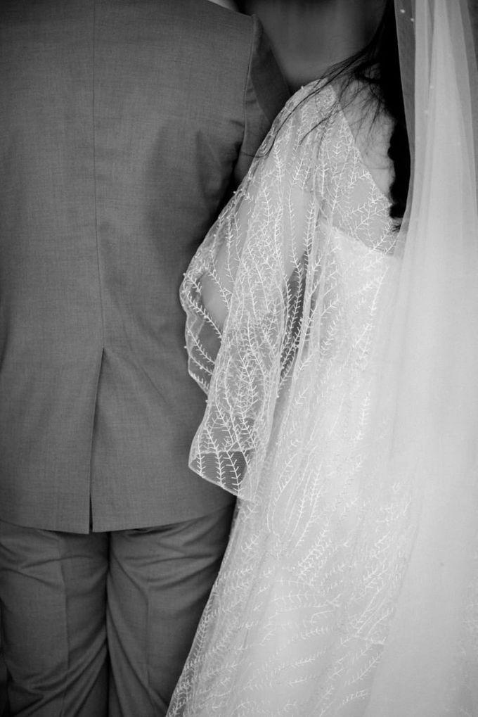 Steffi & Joshua Wedding Day by KYRIA WEDDING - 005