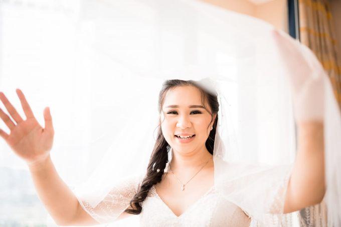 Steffi & Joshua Wedding Day by KYRIA WEDDING - 009