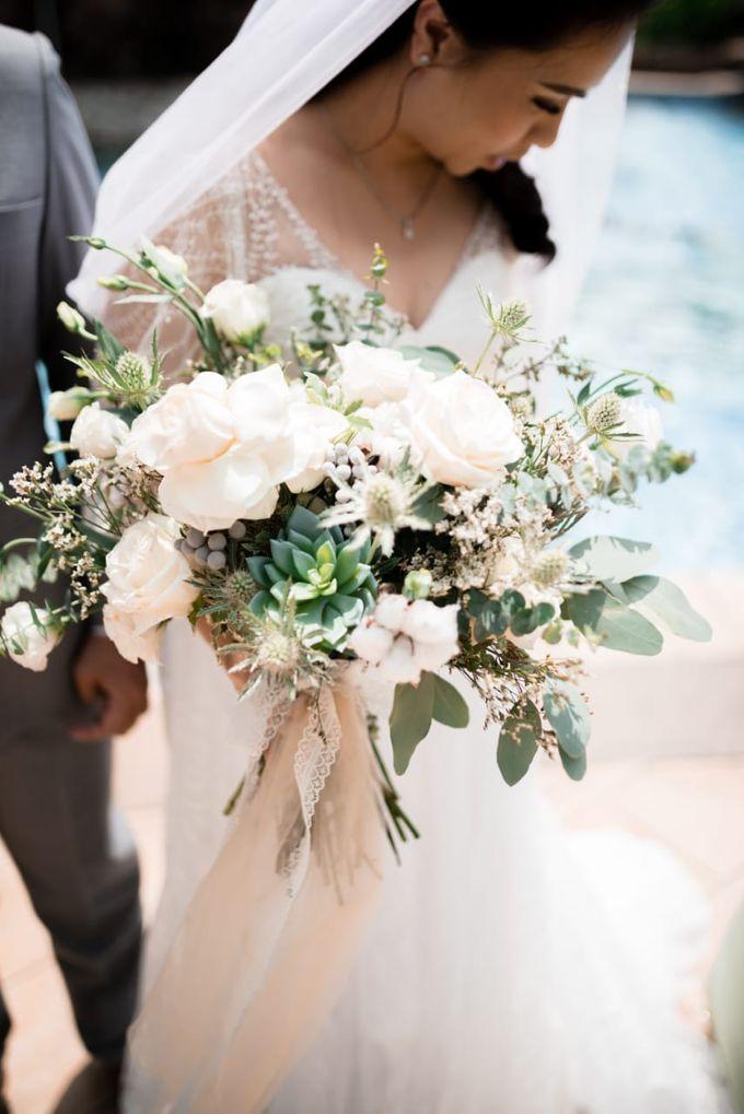 Steffi & Joshua Wedding Day by KYRIA WEDDING - 010