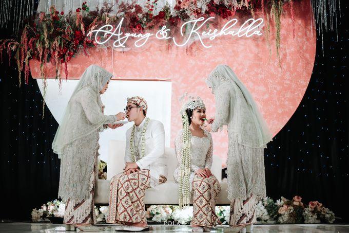 Wedding of Agung & Keyshalla at Trans Convention Center by Valentine Wedding Decoration - 019