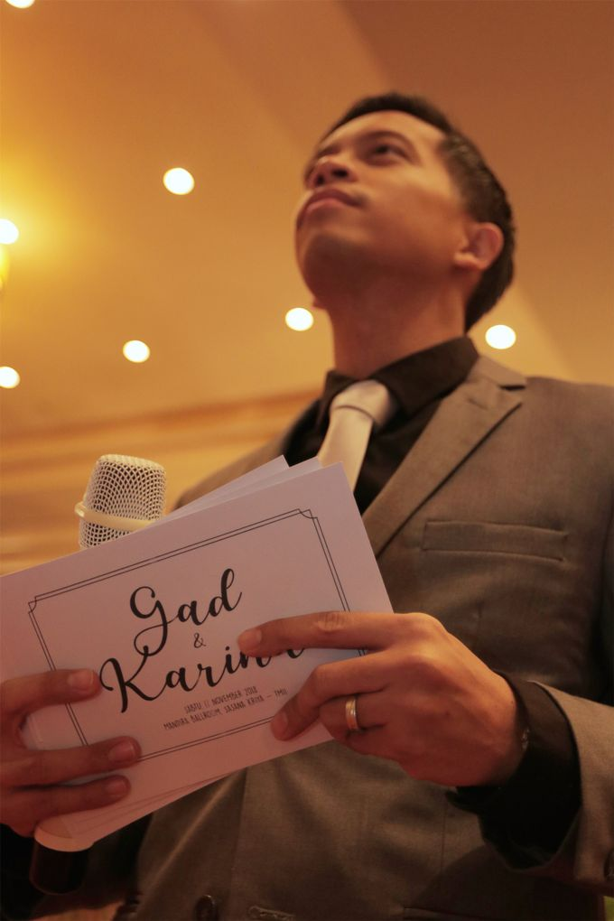 Gad & Karina Wedding Day by Vedie Budiman - 001