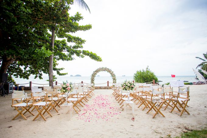 Rob and Michelle wedding at Conrad Koh Samui by BLISS Events & Weddings Thailand - 001