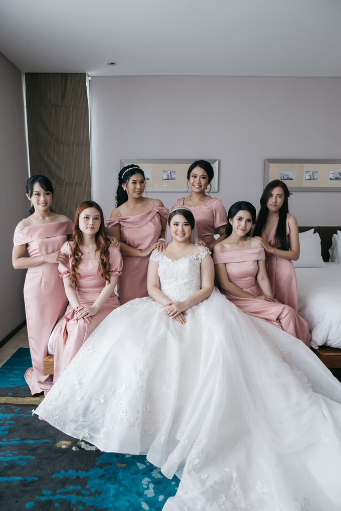 Evan & Brigita Wedding at Hilton by PRIDE Organizer - 037