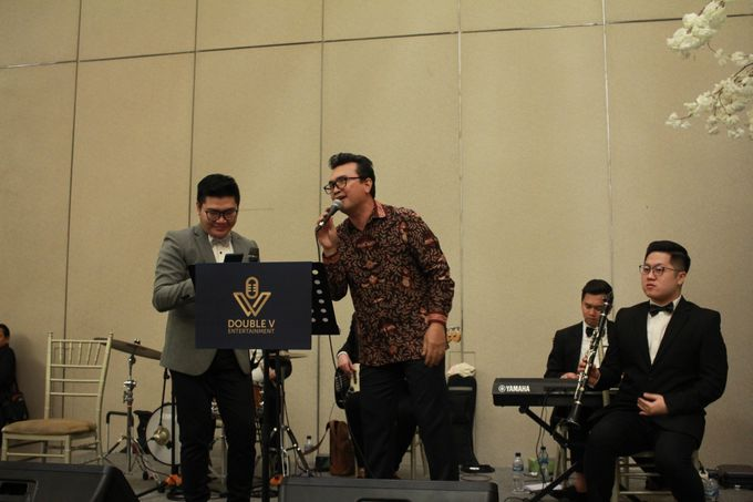 Jazz Wedding Entertainment Sheraton Gandaria jakarta - Double V entertainment by Anthony Stevven - 012