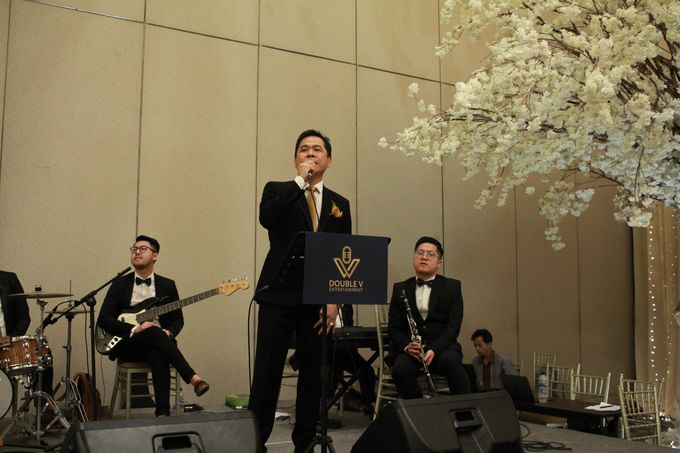 Jazz Wedding Entertainment Sheraton Gandaria jakarta - Double V entertainment by Anthony Stevven - 014