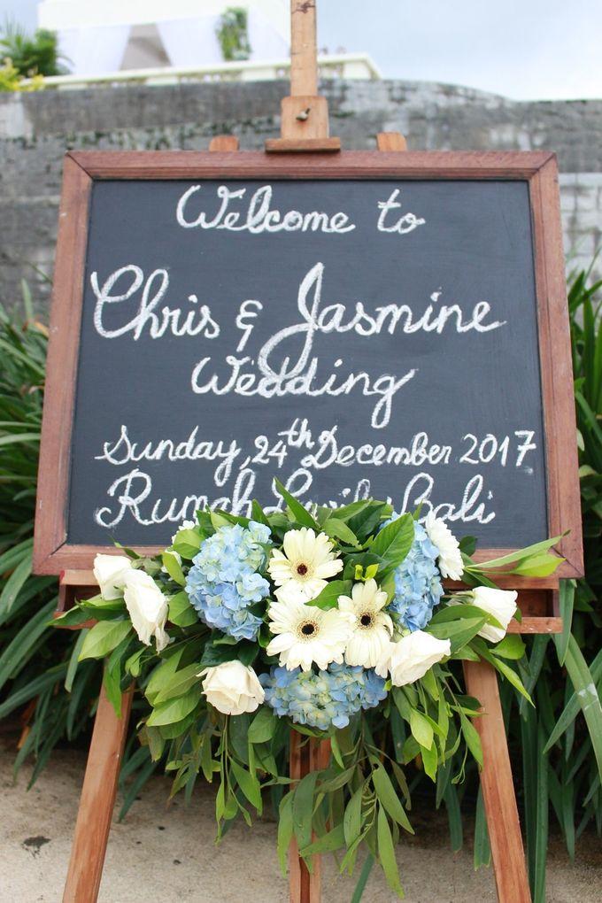 JASMINE AND CHRIS WEDDING by Rumah Luwih Beach Resort - 005