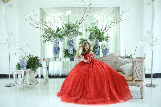 RED DRESS by natalia soetjipto - 016