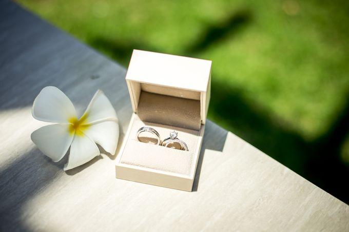 The Wedding of Mr Chung Suk Won & Ms Lee Jung Min by Bali Wedding Atelier - 001