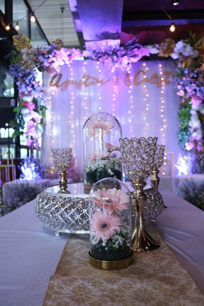 Agustinus & Calista's Engagement by Buttercup Decoration - 009