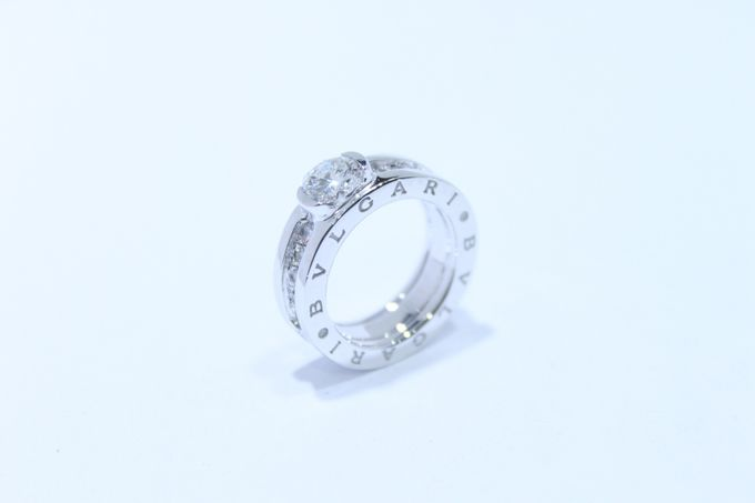 wedding ring engrave & finger print d'sign by V&Co Jewellery - 005