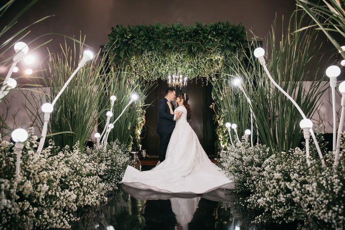 Evan & Brigita Wedding at Hilton by PRIDE Organizer - 042
