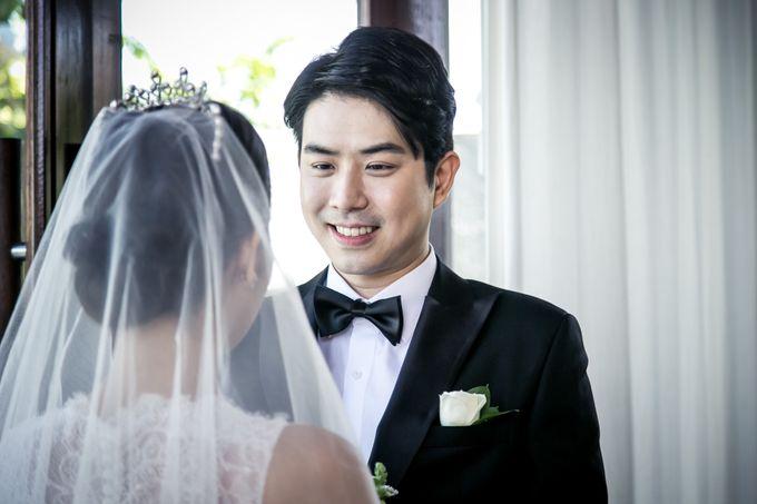 The Wedding of Mr Chung Suk Won & Ms Lee Jung Min by Bali Wedding Atelier - 006