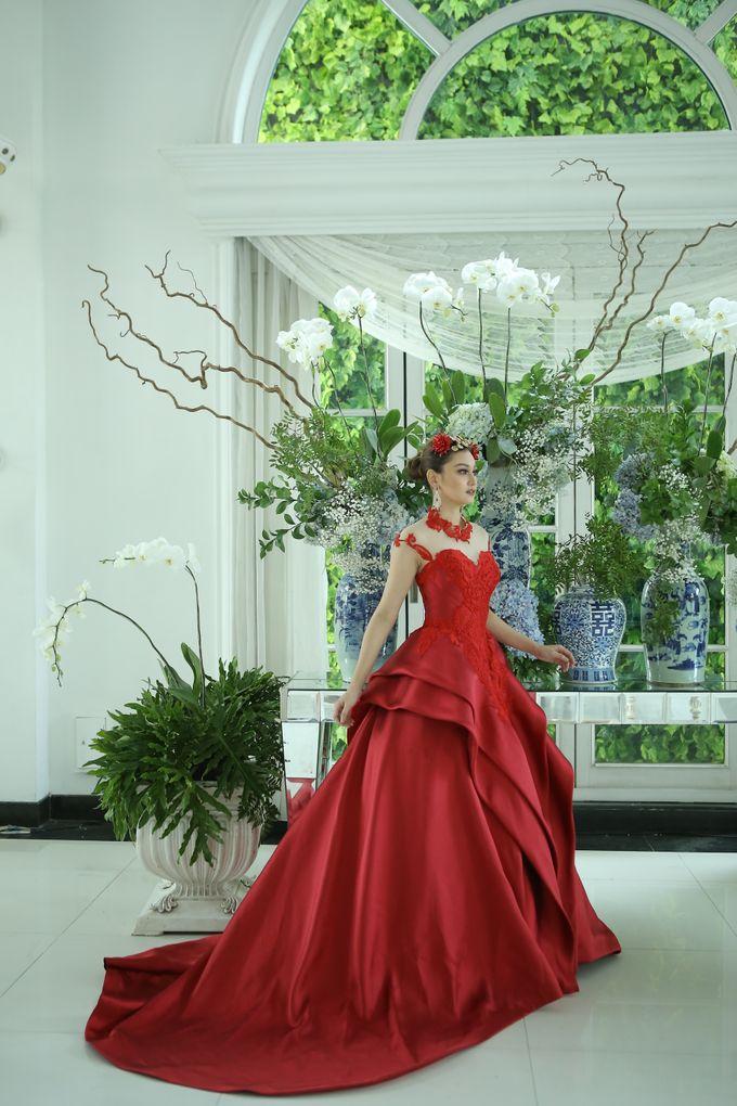 RED DRESS by natalia soetjipto - 009