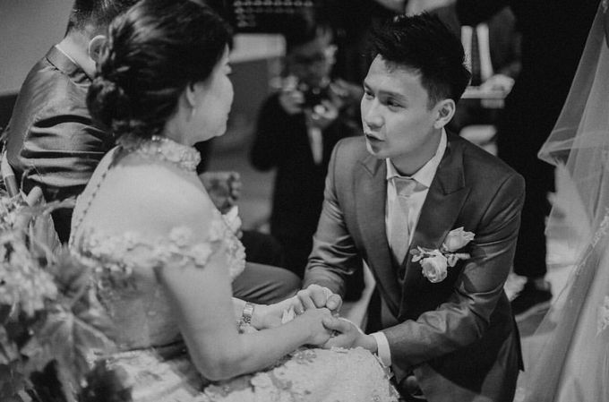 Wedding of Fendy & Stella by Wong Hang Distinguished Tailor - 005