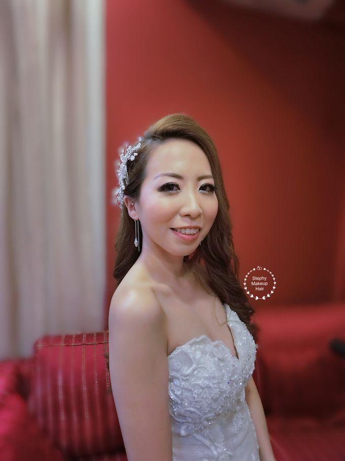 kuala lumpur Lynn Wedding Day by Stephy Ng Makeup and Hair - 005