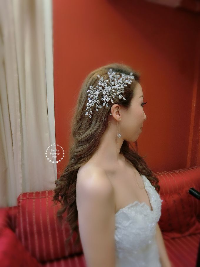 kuala lumpur Lynn Wedding Day by Stephy Ng Makeup and Hair - 002