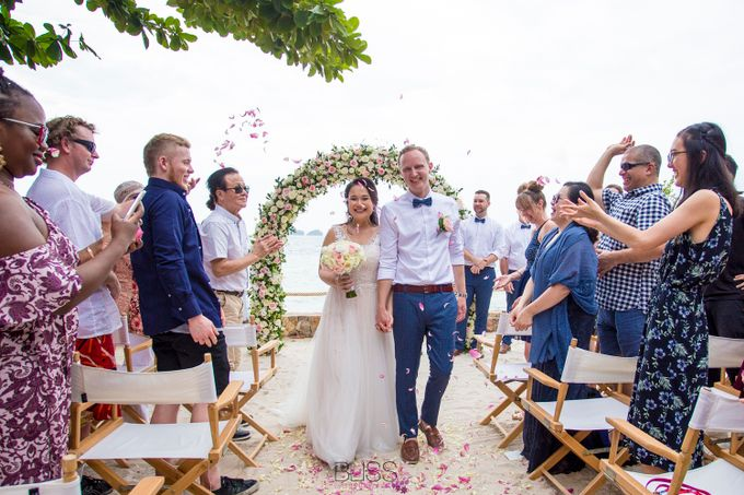 Rob and Michelle wedding at Conrad Koh Samui by BLISS Events & Weddings Thailand - 005