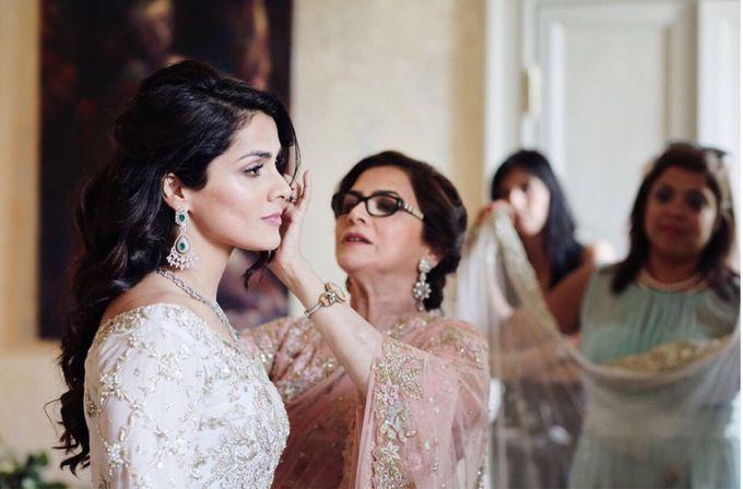 Arabian Wedding in Villa Regina Teodolinda by Elena Panzeri Makeup & Hair Artist - 001