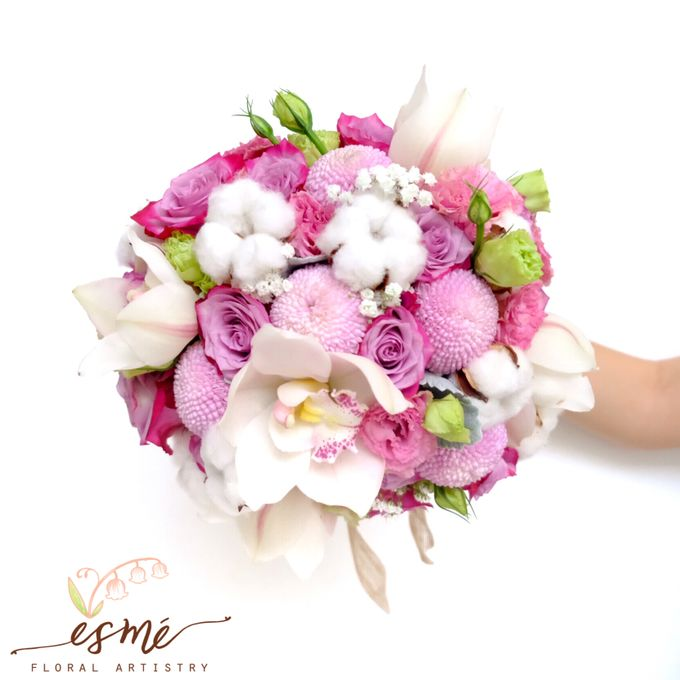 Bridal Bouquet by Esme Floral Artistry - 017