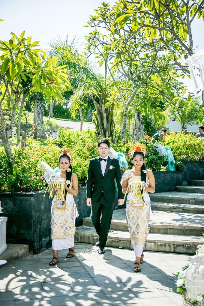 The Wedding of Mr Chung Suk Won & Ms Lee Jung Min by Bali Wedding Atelier - 008