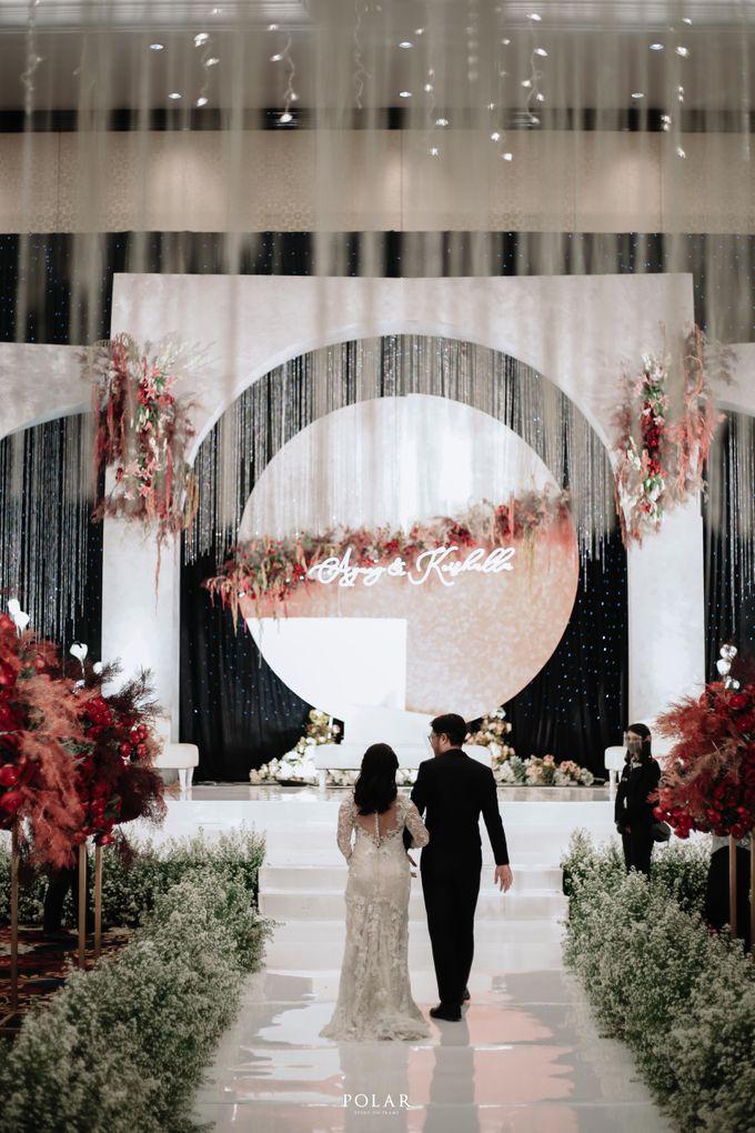 Wedding of Agung & Keyshalla at Trans Convention Center by Valentine Wedding Decoration - 024