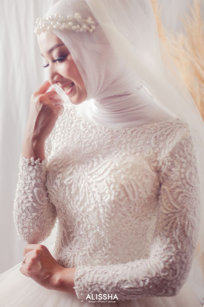 International Gown for Hijab by Alissha Bride - 003