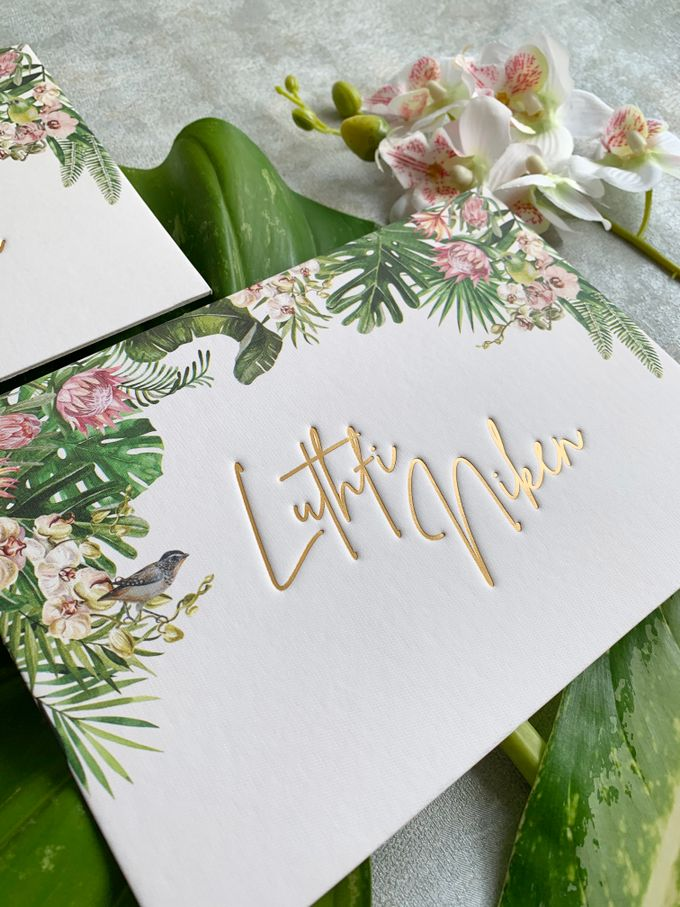 Tropical Paradise by Trouvaille Invitation - 003