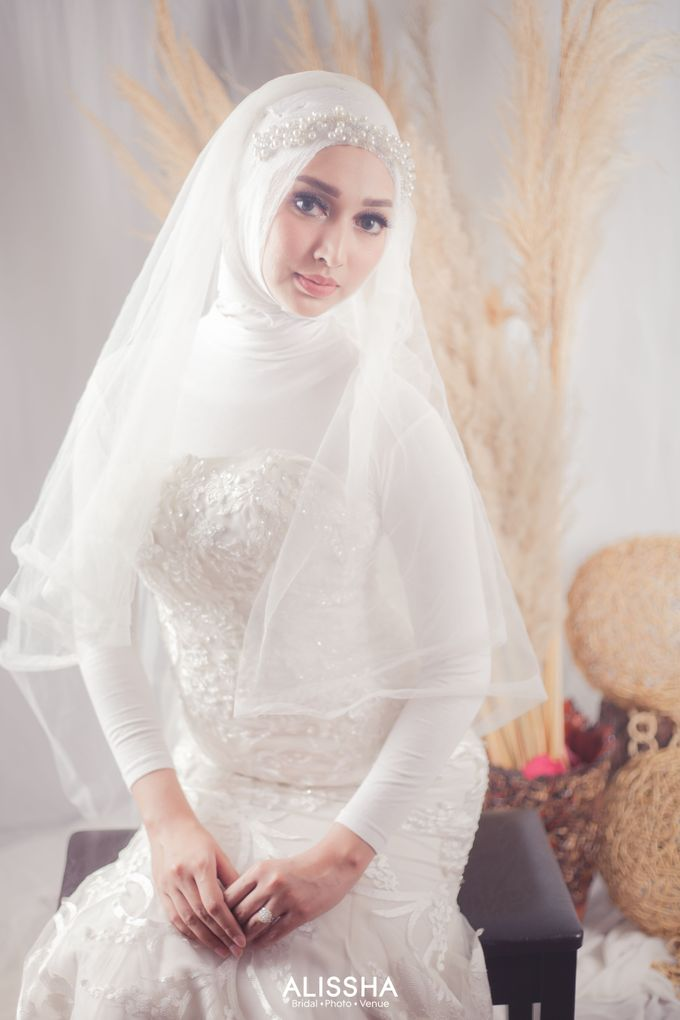 International Gown for Hijab by Alissha Bride - 004