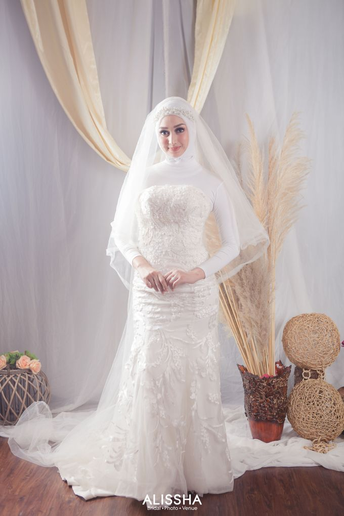 International Gown for Hijab by Alissha Bride - 006