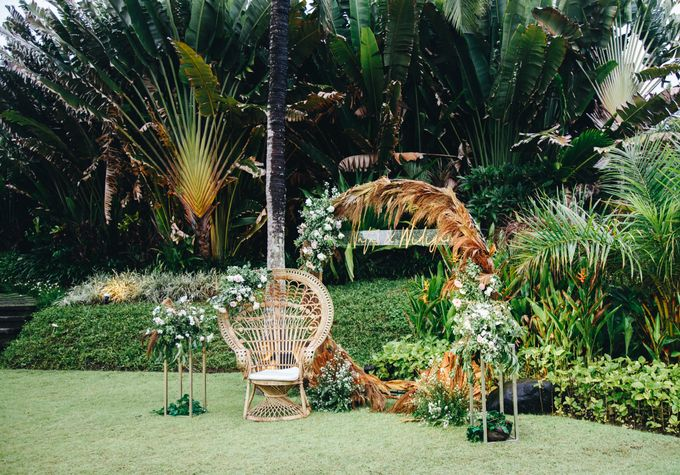 Natas & Widiyan at Villa impiana Cemagi by Cloris Decoration & Planner - 003