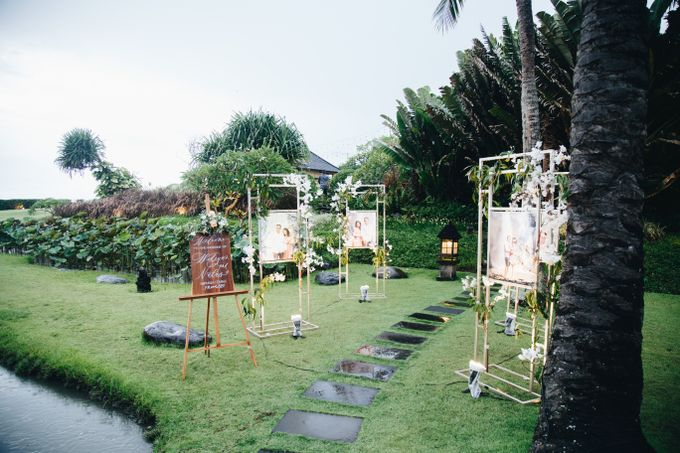 Natas & Widiyan at Villa impiana Cemagi by Cloris Decoration & Planner - 012