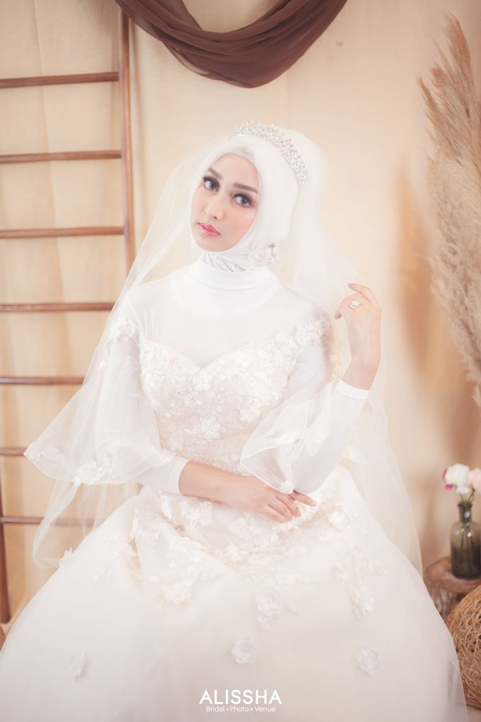International Gown for Hijab by Alissha Bride - 007