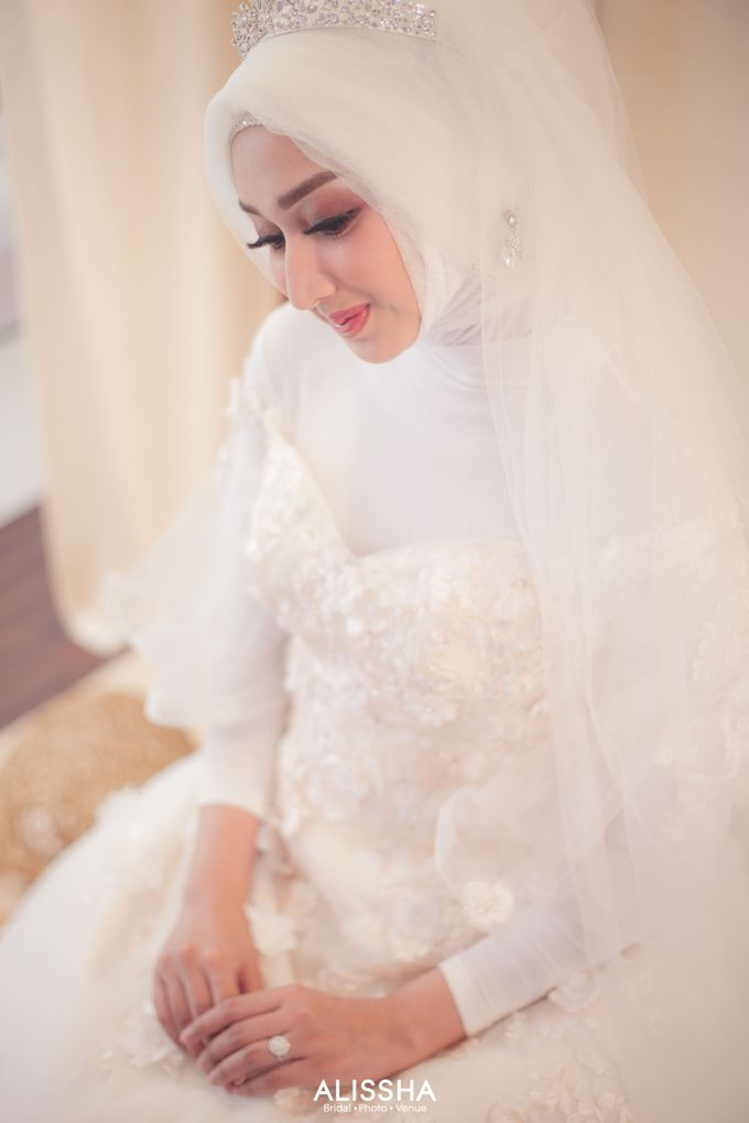 International Gown for Hijab by Alissha Bride - 008
