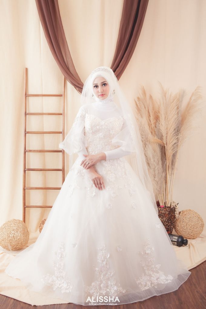 International Gown for Hijab by Alissha Bride - 009
