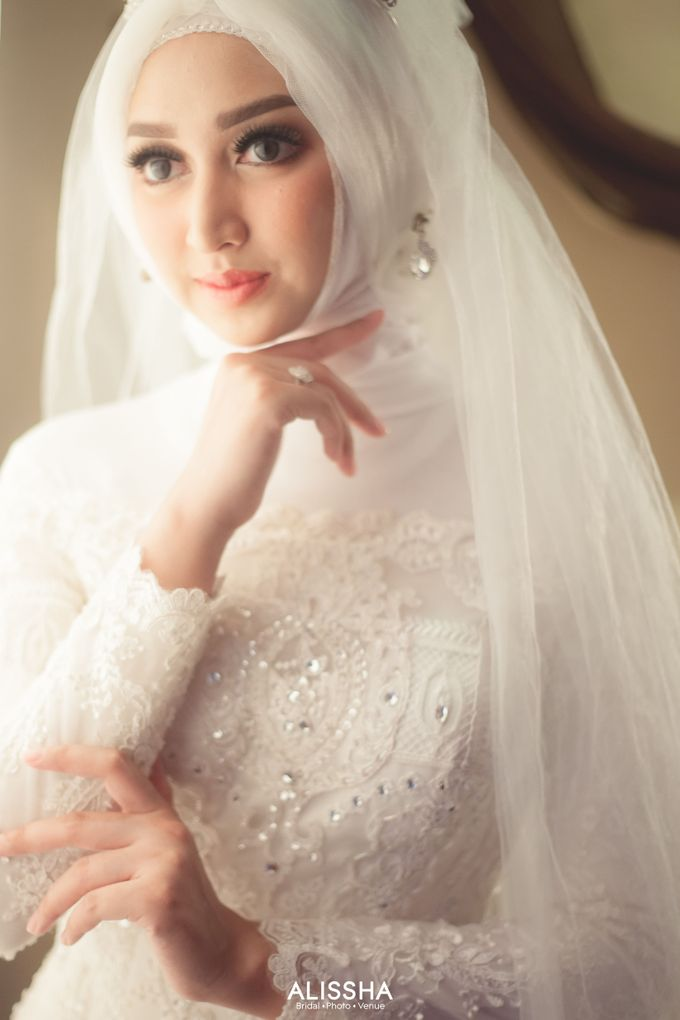 International Gown for Hijab by Alissha Bride - 010