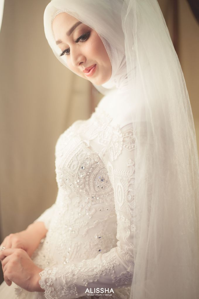 International Gown for Hijab by Alissha Bride - 011