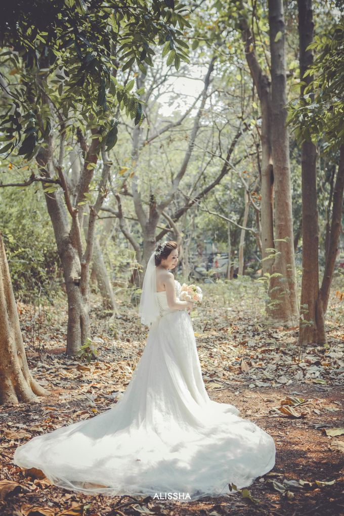 Prewedding of Christian-Vina at Alissha by Alissha Bride - 001