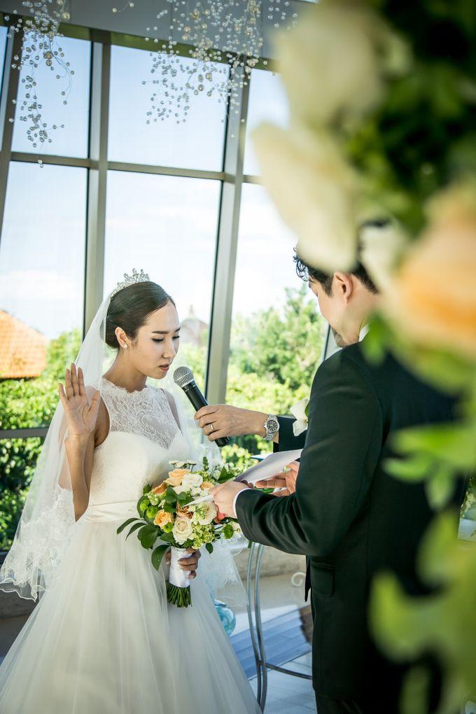 The Wedding of Mr Chung Suk Won & Ms Lee Jung Min by Bali Wedding Atelier - 013