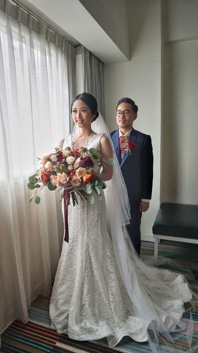 Markus & Tressi's Wedding by Cloche Atelier - 015