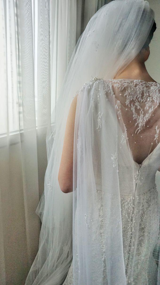 Markus & Tressi's Wedding by Cloche Atelier - 017