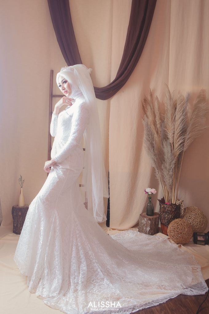 International Gown for Hijab by Alissha Bride - 012