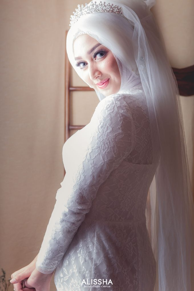 International Gown for Hijab by Alissha Bride - 013