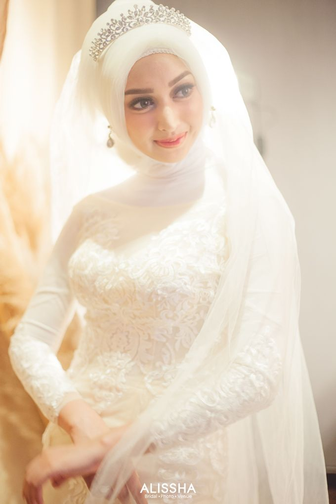 International Gown for Hijab by Alissha Bride - 015