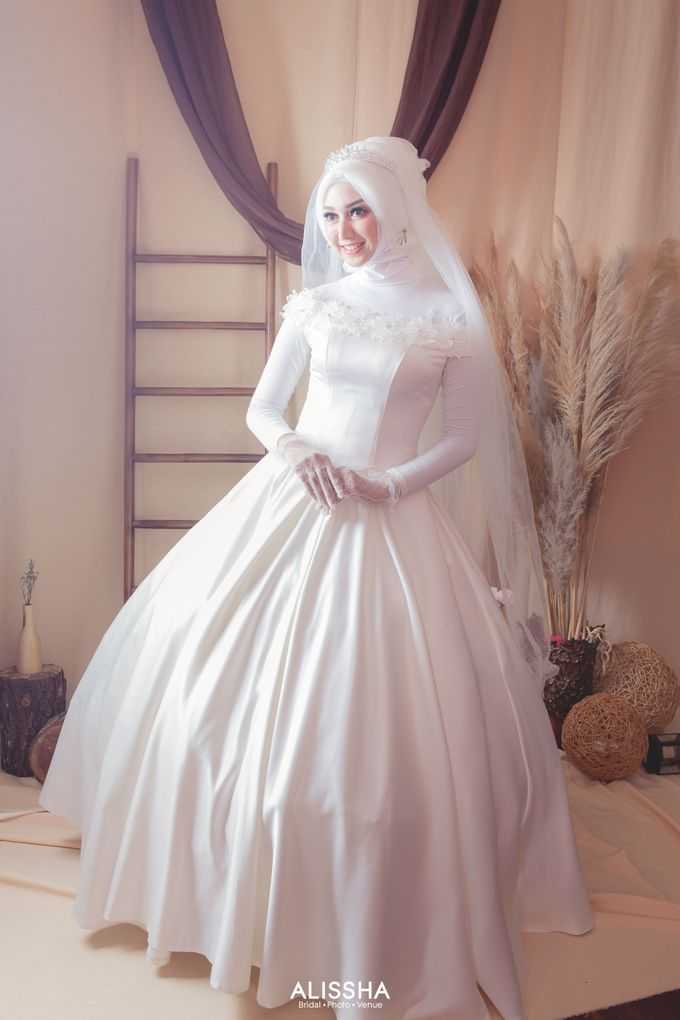 International Gown for Hijab by Alissha Bride - 016