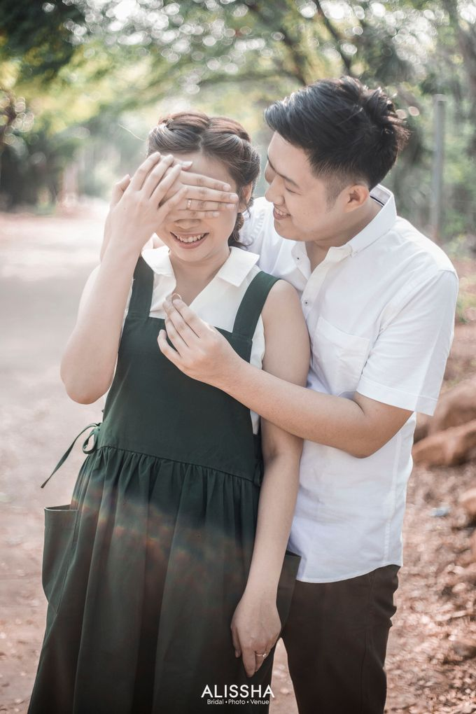 Prewedding of Christian-Vina at Alissha by Alissha Bride - 003