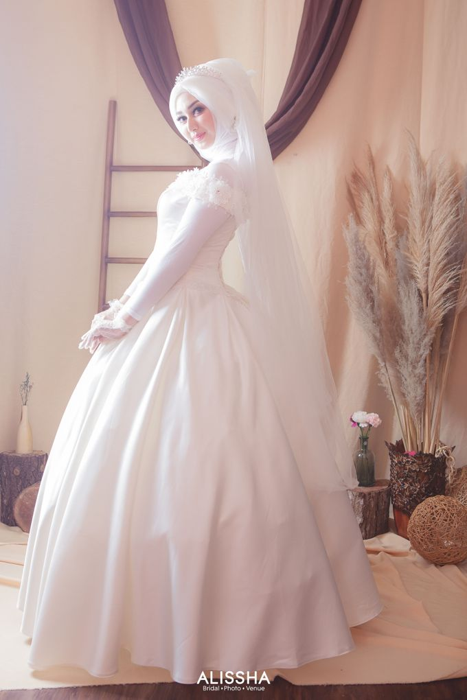 International Gown for Hijab by Alissha Bride - 018