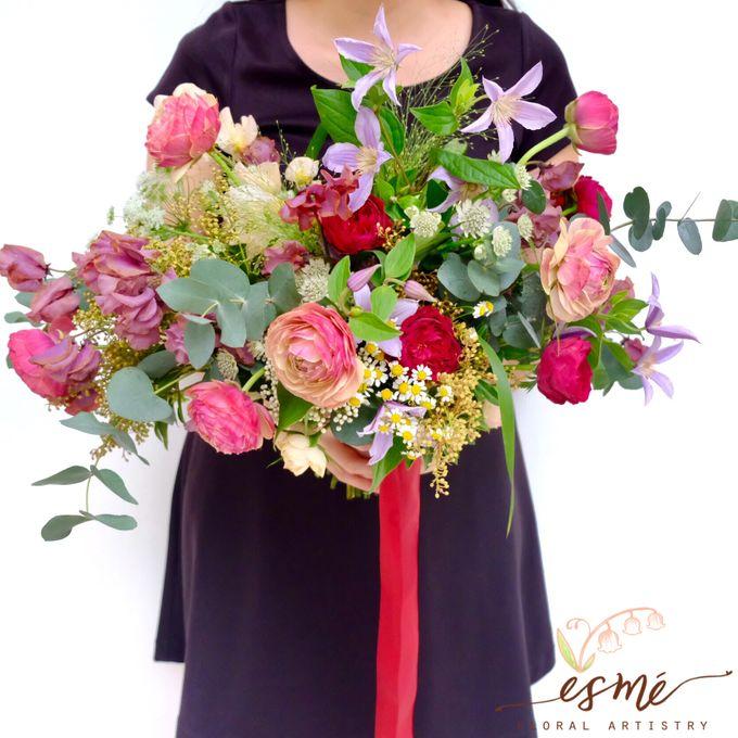 Bridal Bouquet by Esme Floral Artistry - 021