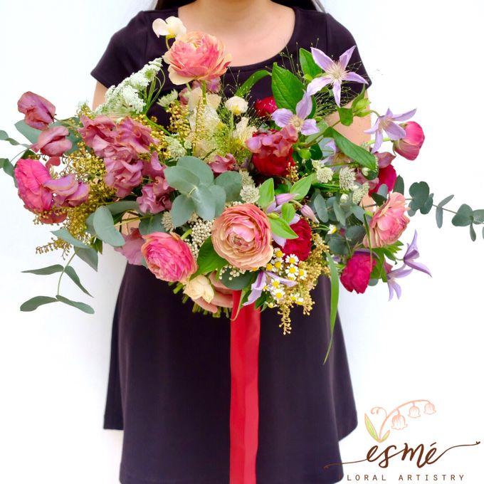Bridal Bouquet by Esme Floral Artistry - 022