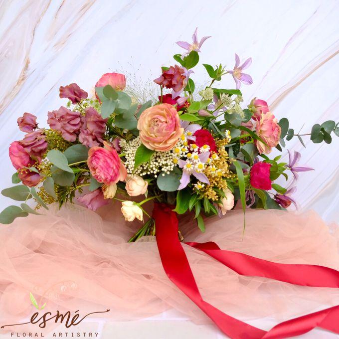 Bridal Bouquet by Esme Floral Artistry - 020